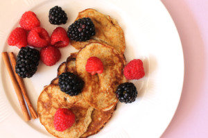 Banana-and-egg-protein-pancakes