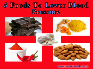 5 foods to lower blood pressure